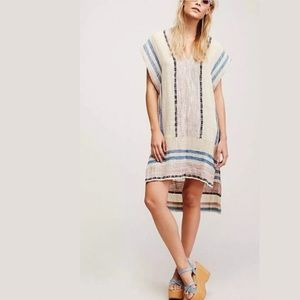 NWT $168 free people beige so easy pullover dress
